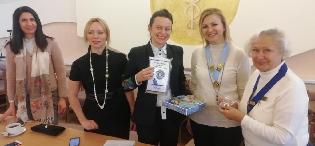 """df063b1b128fb3 Ділова зустріч з жінками з організації """"Inner Wheel"""" (Туреччина) відбулася  наприкынцы листопада в ТПП у рамках роботи Комітету з питань розвитку  жіночого ..."""
